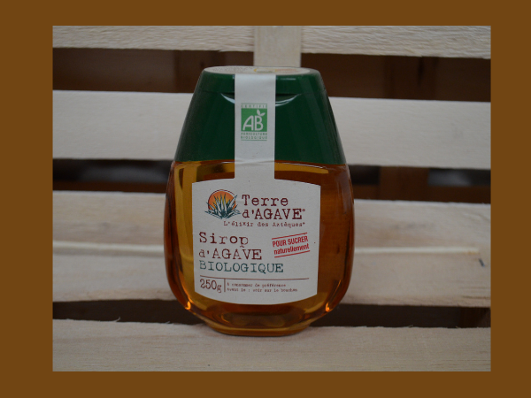 SIROP AGAVE LIQUIDE - 250G