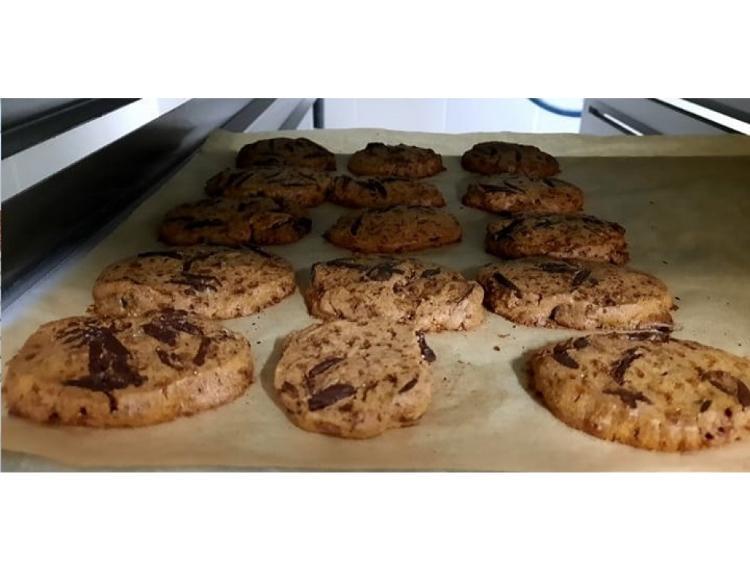 5 Cookies blé ancien et chocolat
