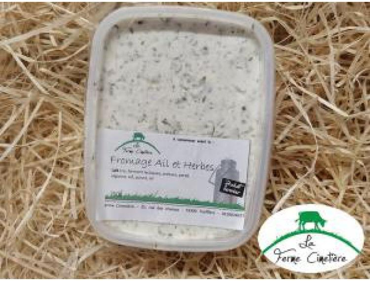 Fromage blanc ails et fines herbes