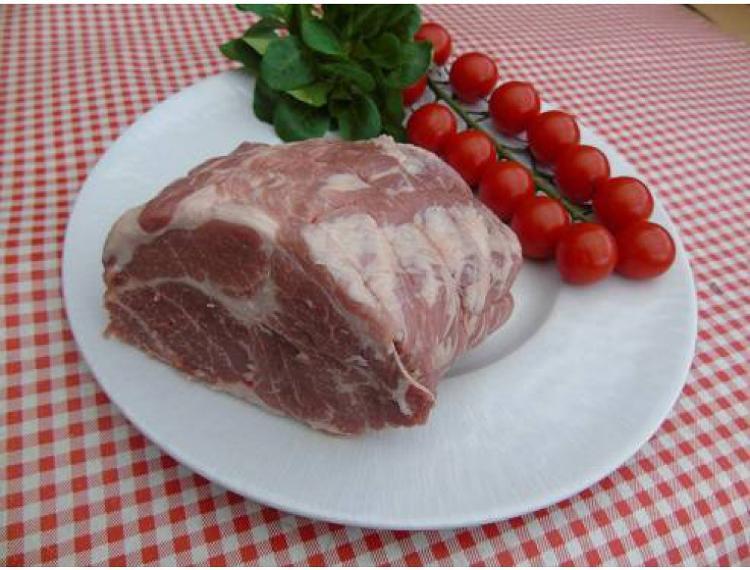 Rôti de porc échine -800g-la ferme des blanches terres