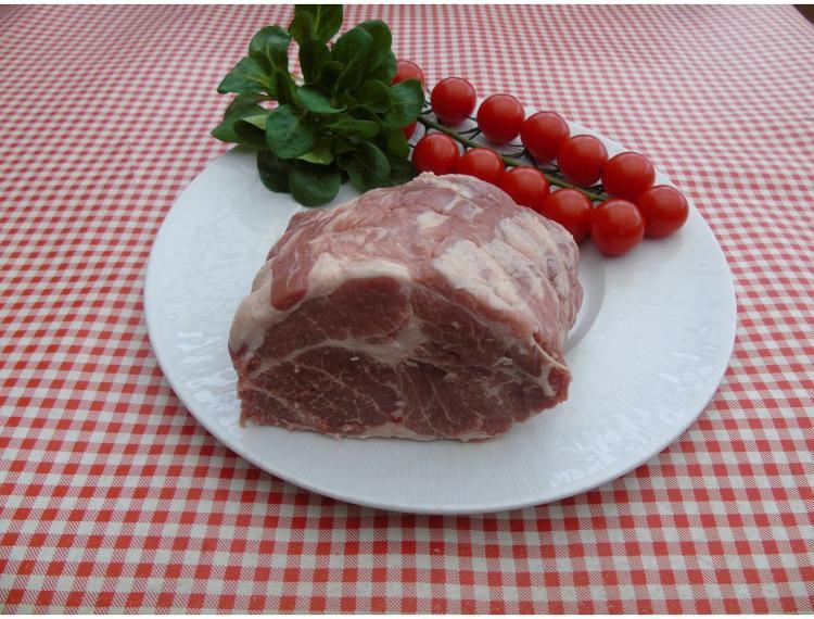 Rôti de porc échine -500g-la ferme des blanches terres