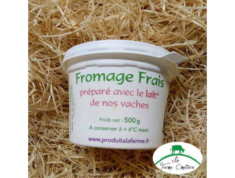 fromage blanc lisse 500g