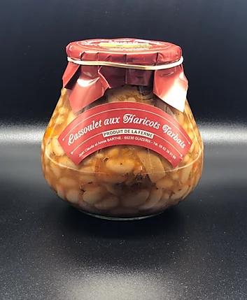 Cassoulet aux haricots tarbais (4 parts) 1500g