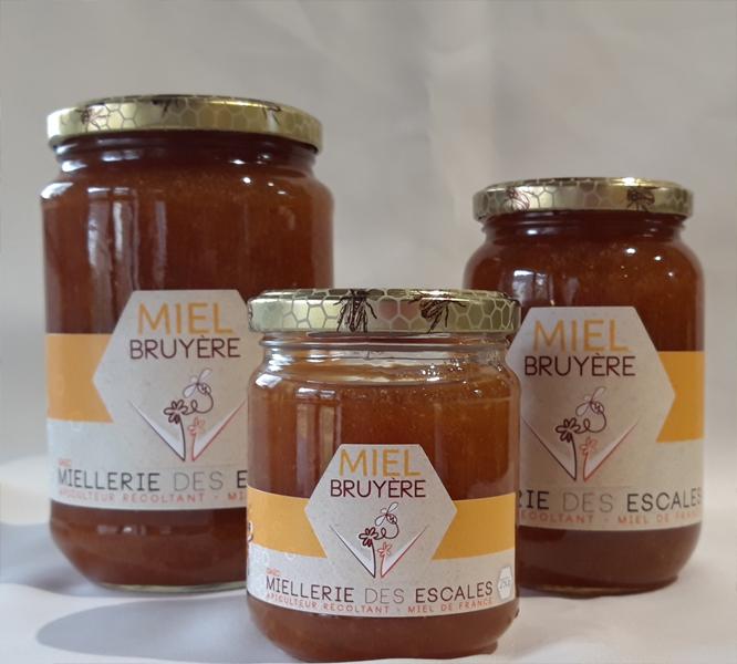 Miel de bruyère 500g