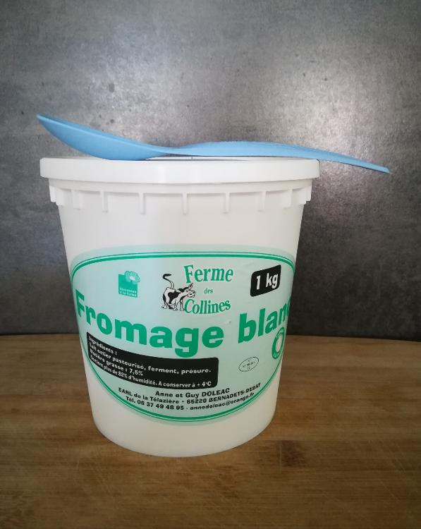 Fromage blanc battu pot de 1kg