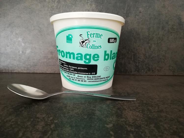 Fromage blanc battu pot de 500g