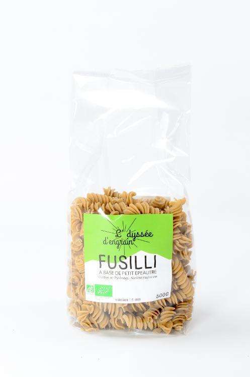 Pâtes bio Fusilli