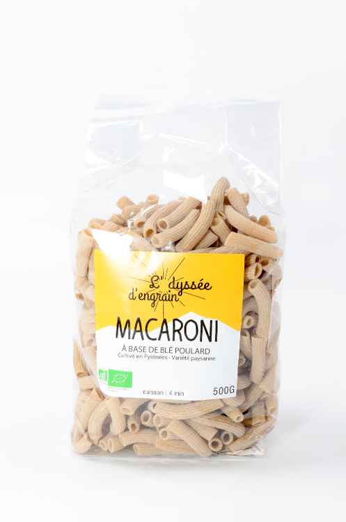 Pâtes bio Macaroni
