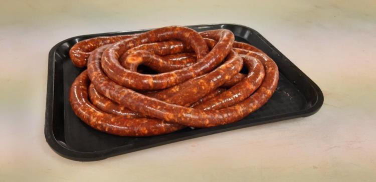 La piguez (porc Duroc), portion 500g