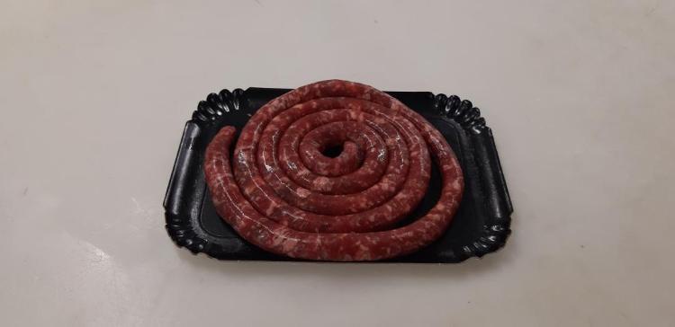 Saucisse grosse, nature (porc Duroc) par 500g