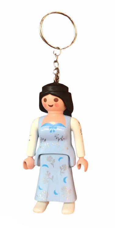 Porte clefs PLAYMOBIL femme PRINCESSE