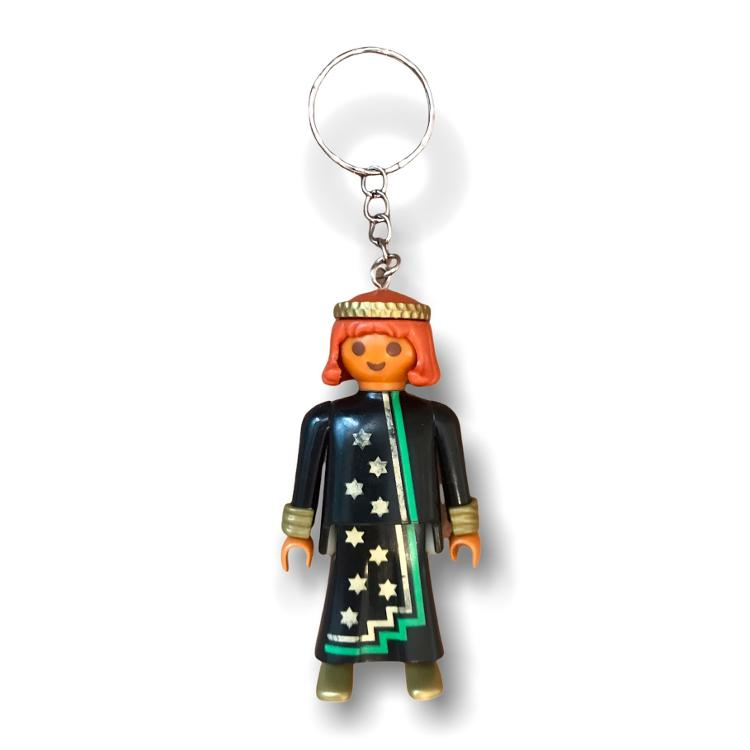 Porte clefs PLAYMOBIL homme MAGE